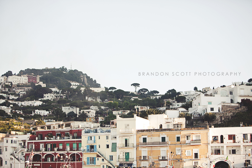 Capri Italy Wedding Photos