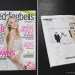 Wedding from Windsor featured in Wedding Bells Magazine