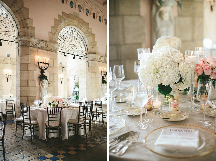 Flagler Museum Wedding decor