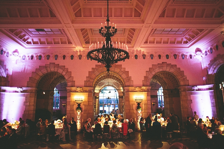 Reception hall at Flagler Museum