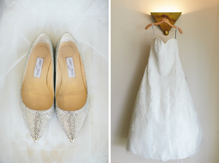 Jimmy Choo Wedding Shoes Trump Towers Wedding