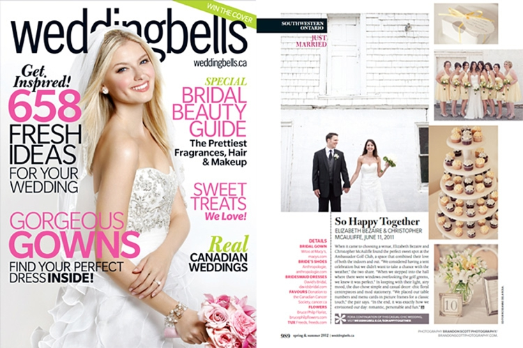 Weddingbells Magazine Canada
