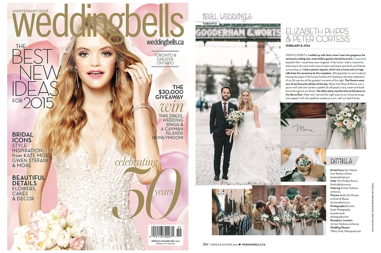 Weddingbells Magazine Feature